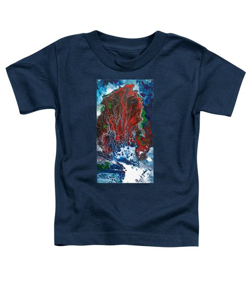 Red Fan Coral Toddler T-Shirt