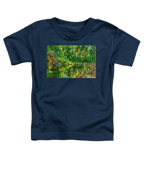 Reflecting On The Day Toddler T-Shirt