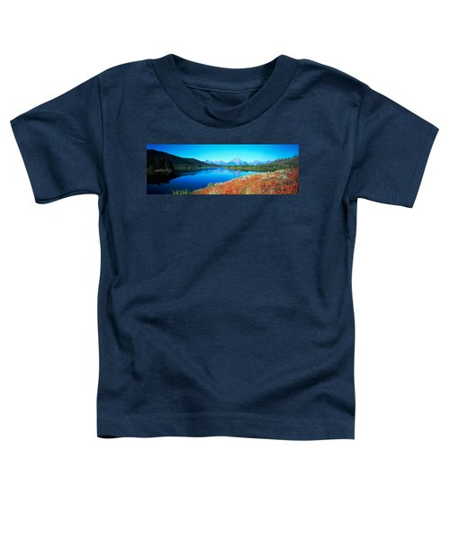 Reflection Of Mountain In A River Toddler T-Shirt