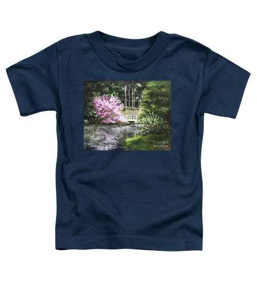 Reflections Of Spring Toddler T-Shirt