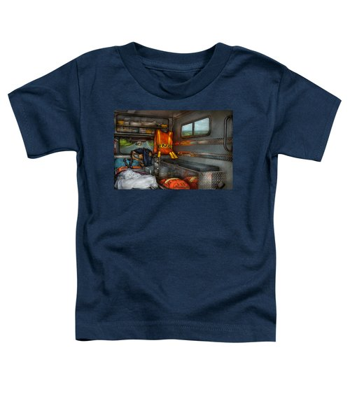 Rescue - Emergency Squad  Toddler T-Shirt