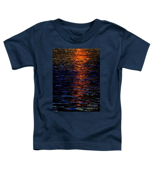 River Sunset Toddler T-Shirt