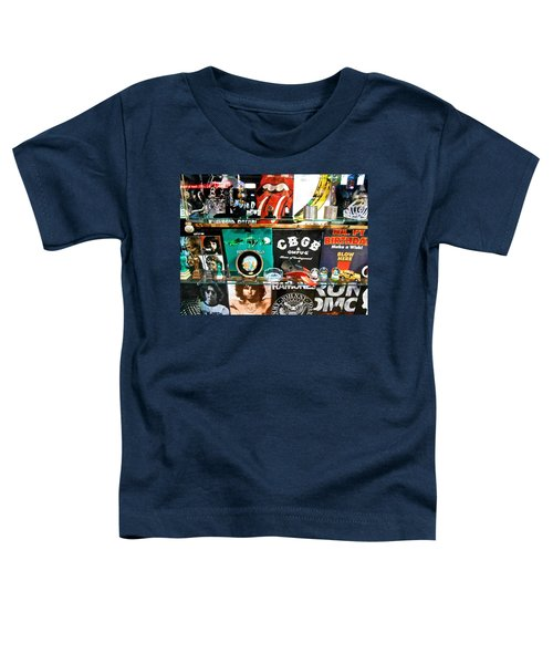 Rock And Roll On St. Marks   Nyc Toddler T-Shirt