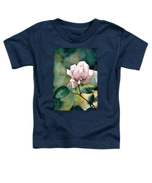 Watercolor Of A Lilac Rose  Toddler T-Shirt