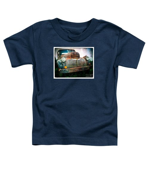 Rusty Old Chevy Pickup Toddler T-Shirt