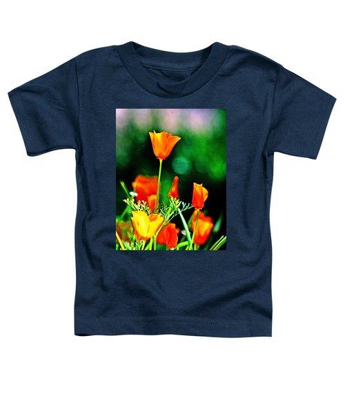 Sacramento Delta Poppies Toddler T-Shirt