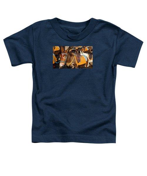 Santorini Donkeys Ready For Work Toddler T-Shirt
