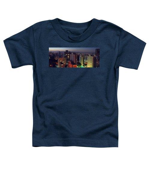 Sao Paulo Downtown At Dusk Toddler T-Shirt