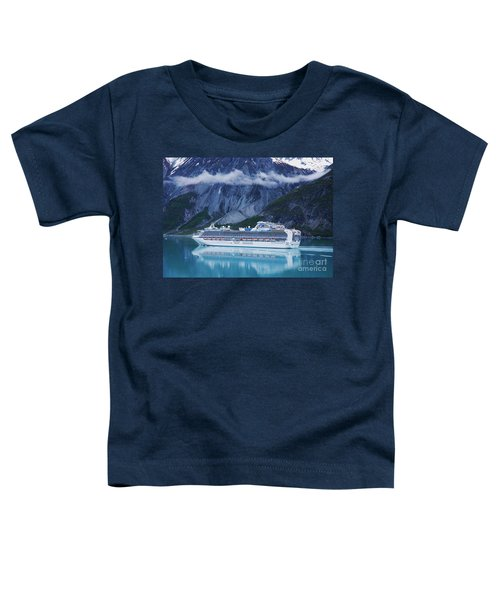 Sapphire Princess In Alaska Toddler T-Shirt
