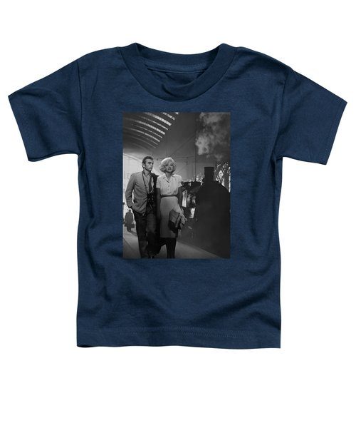 Saying Farewell Toddler T-Shirt by Chris Consani