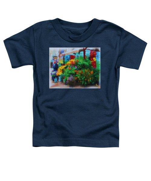 Scene From La Rambla Toddler T-Shirt