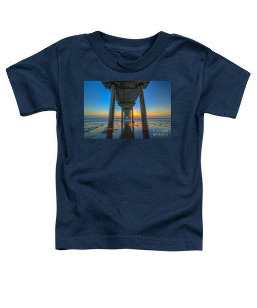 Scripps Pier Sunset Toddler T-Shirt