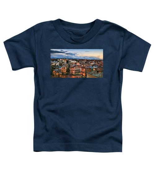 Segovia Nights In Spain By Diana Sainz Toddler T-Shirt