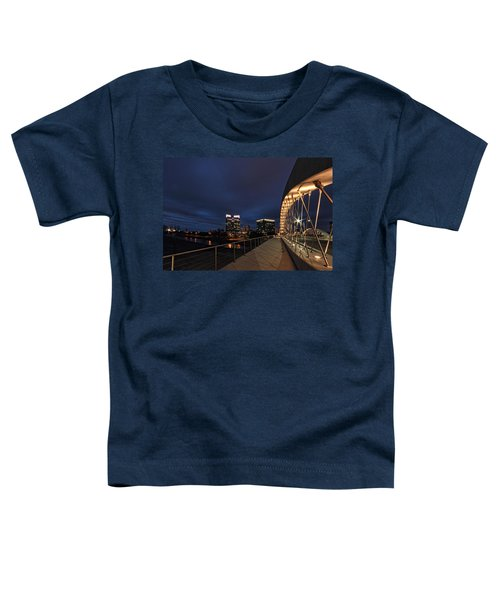 Seventh Avenue Bridge Fort Worth Toddler T-Shirt