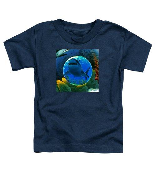 Shark World  Toddler T-Shirt