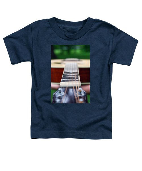 Six String Music Toddler T-Shirt