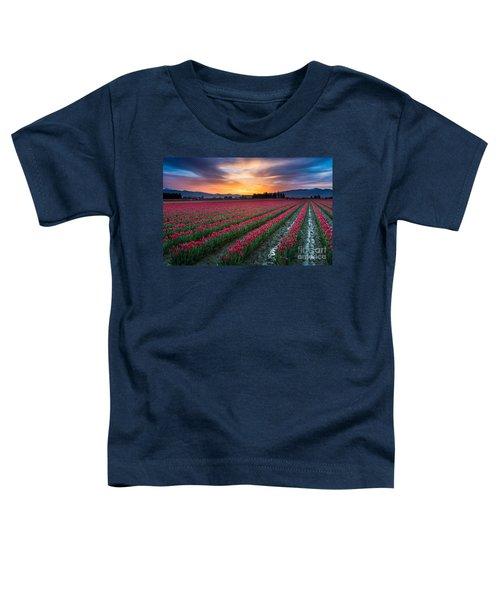 Skagit Valley Predawn Toddler T-Shirt