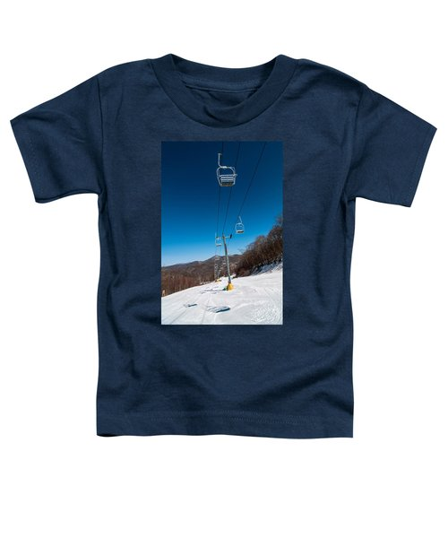 Ski Lift Toddler T-Shirt