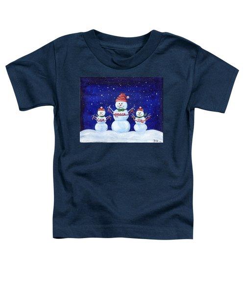 Snowmen Toddler T-Shirt