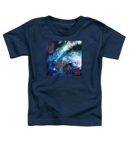Spark Of Life Canvas One Toddler T-Shirt