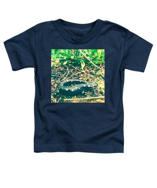 Spotted Salamander Retro Toddler T-Shirt