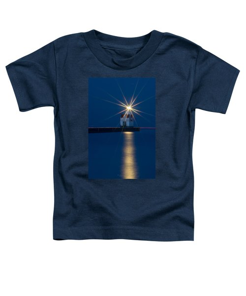 Star Bright Toddler T-Shirt by Bill Pevlor