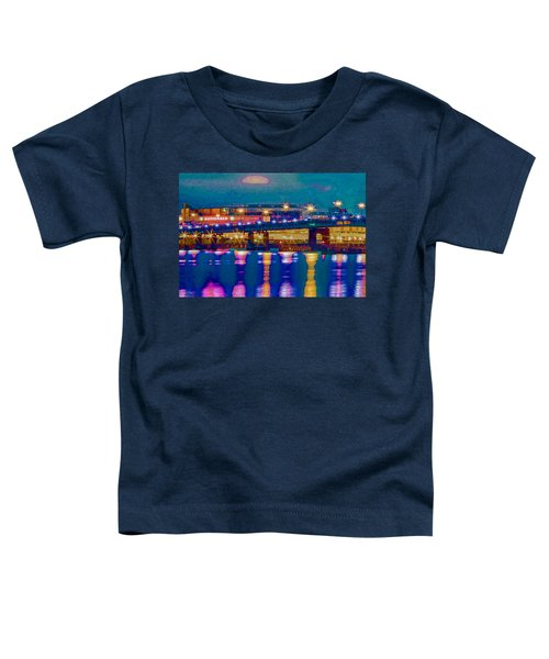 Starry Night At Nationals Park Toddler T-Shirt