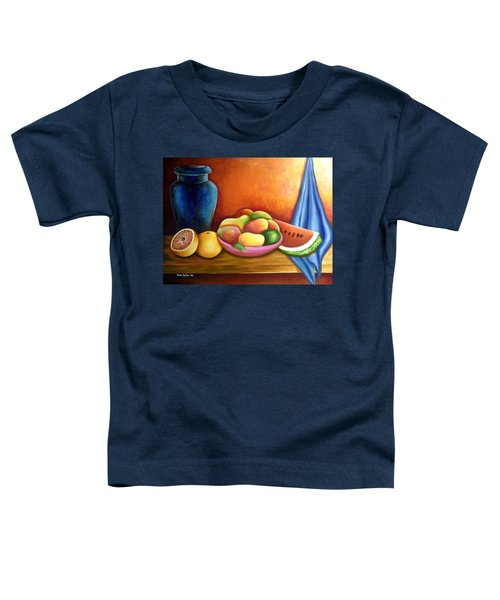 Still Life Of Fruits Toddler T-Shirt