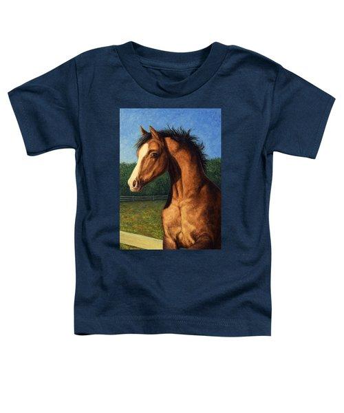 Stir Crazy Toddler T-Shirt