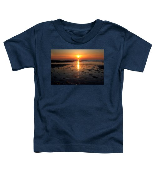 Sundown At The North Sea Toddler T-Shirt