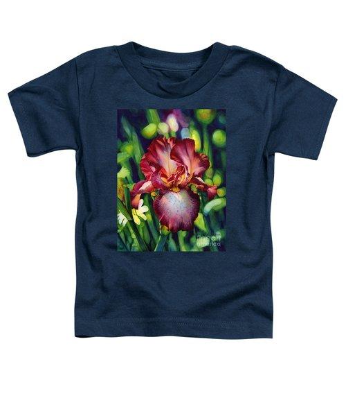 Sunlit Iris Toddler T-Shirt