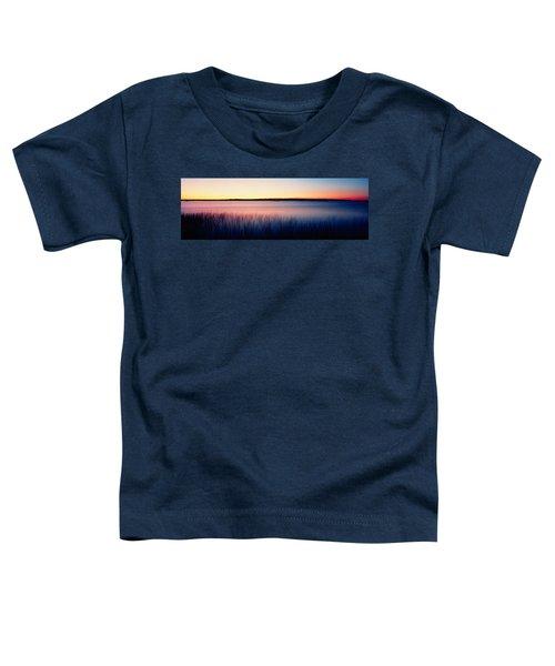 Sunrise Lake Michigan Wi Usa Toddler T-Shirt