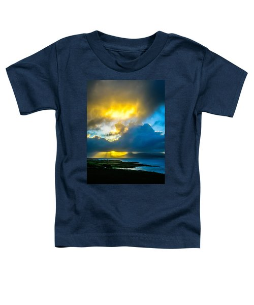 Toddler T-Shirt featuring the photograph Sunrise Over Sheep's Head Peninsula by James Truett