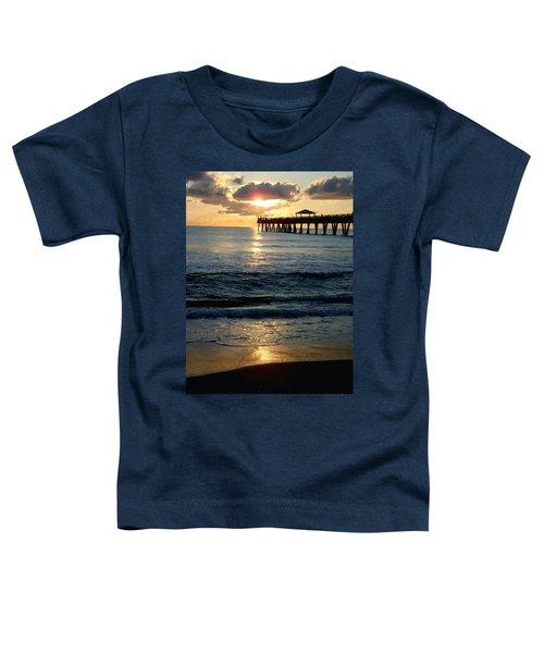 Sunset Pier Toddler T-Shirt
