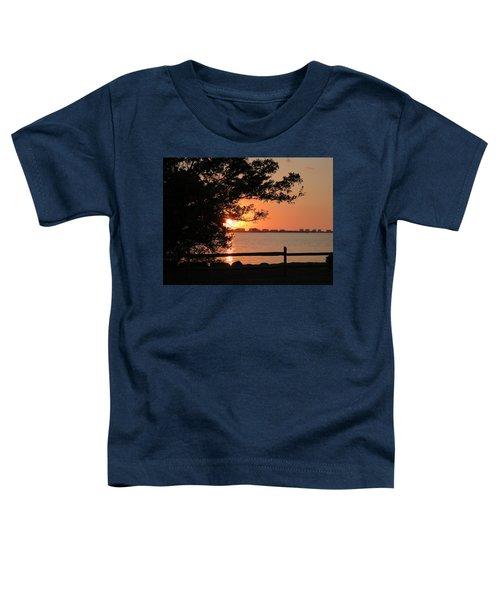 Sunset On Sarasota Harbor Toddler T-Shirt