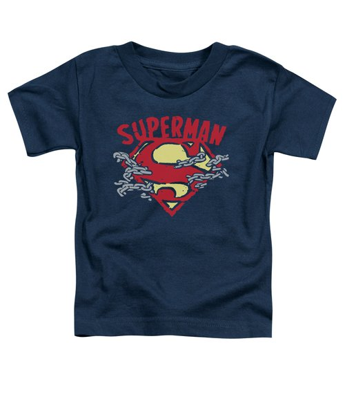 Superman - Chain Breaking Toddler T-Shirt