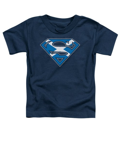 Superman - Scottish Shield Toddler T-Shirt