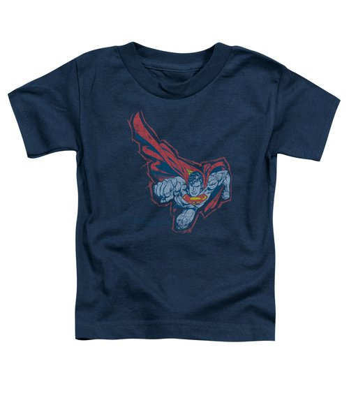 Superman - Scribble And Soar Toddler T-Shirt