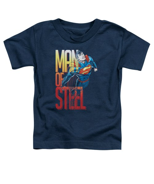 Superman - Steel Flight Toddler T-Shirt