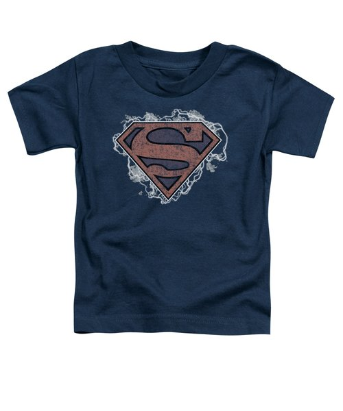 Superman - Storm Cloud Supes Toddler T-Shirt by Brand A