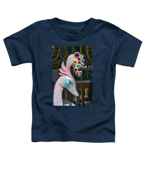 Swan Carrsoul Ride Toddler T-Shirt