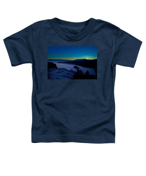 Tahoe Sunrise Toddler T-Shirt