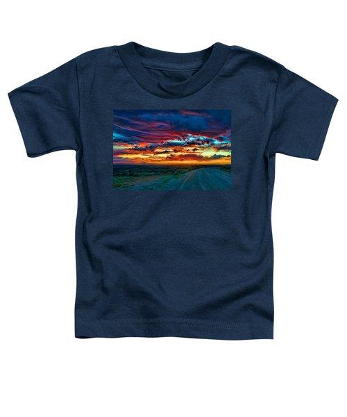 Taos Sunset Iv Toddler T-Shirt
