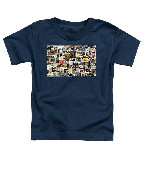 The Beatles Collage Toddler T-Shirt