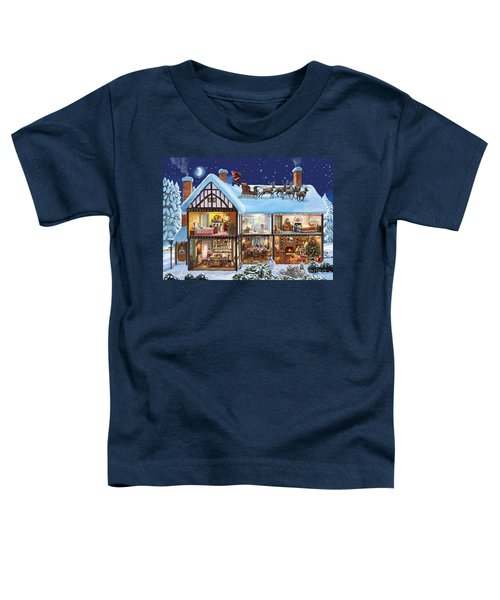Christmas House Toddler T-Shirt
