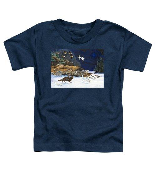 The Christmas Star Toddler T-Shirt