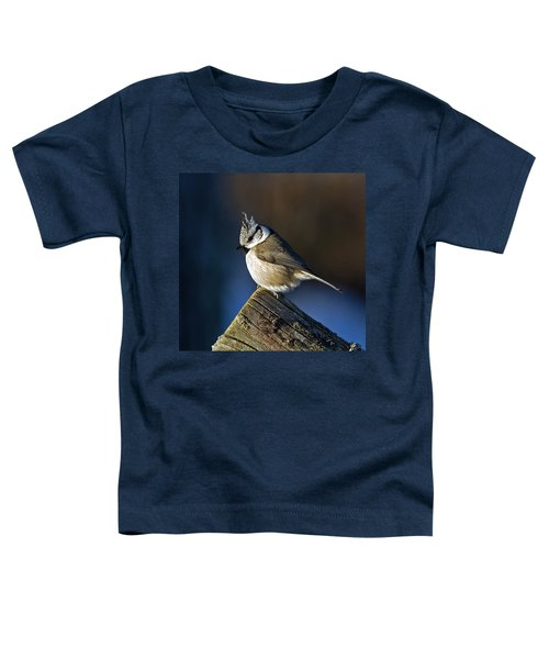 The Crested Tit In The Sun Toddler T-Shirt
