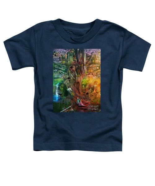 The Dreaming Tree Toddler T-Shirt by Aimee Stewart