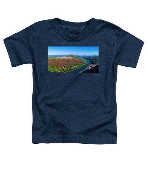 The Elbe Around The Lilienstein Toddler T-Shirt