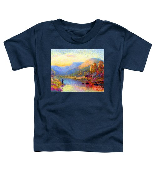 Fishing And Dreaming Toddler T-Shirt